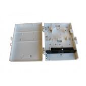 FIBERBOKS PLAST 4xSC-D U/ADAPTER